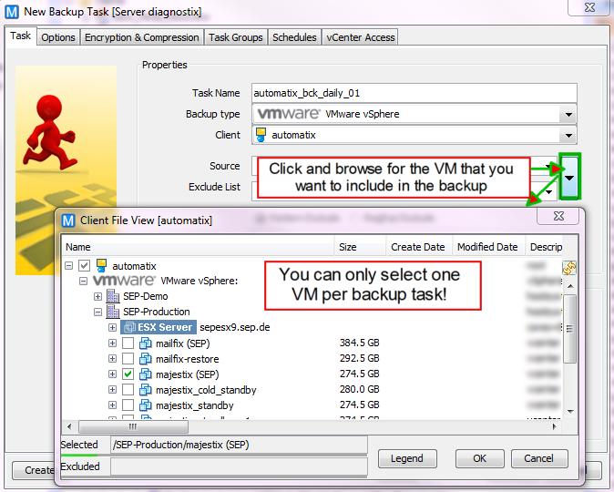 4 4 3:VMware Backup - SEPsesam