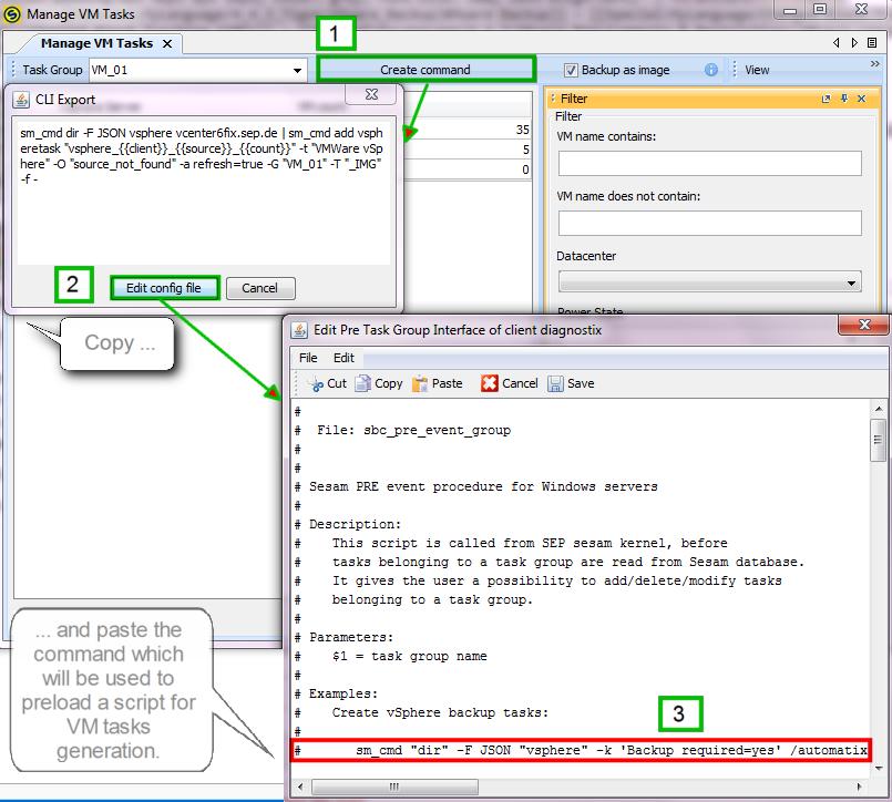 Automating Backup of Virtual Machines - SEPsesam