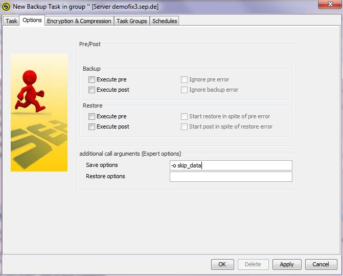 4 4 3:NetApp CIFS Backup - SEPsesam