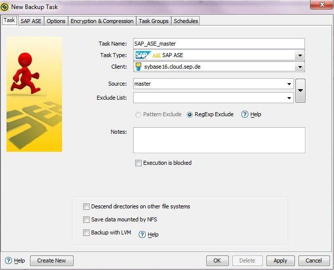 4 4 3:SAP ASE Backup - SEPsesam