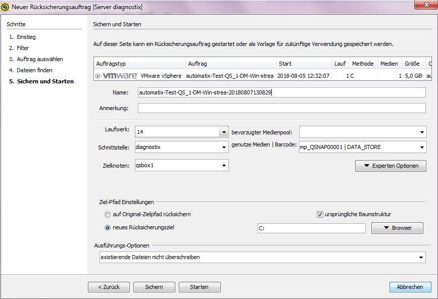 4 4 3:VMware Single File Restore/de - SEPsesam